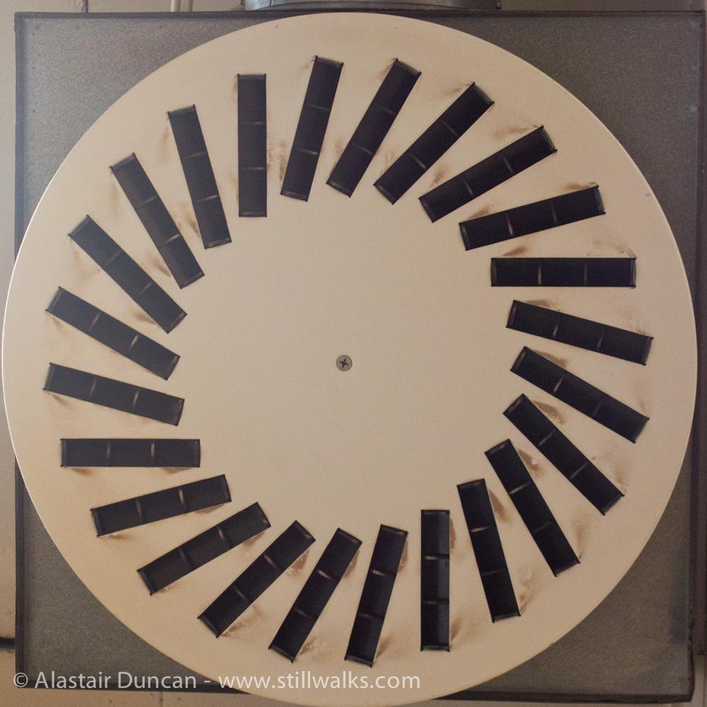 circular air vent