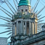 Ferris Wheel and City Hall
