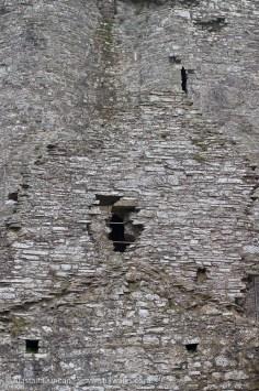 Castle walls against walls