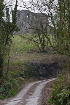Track to Llansteffan Castle