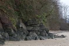 Llansteffan Beach and Boulders