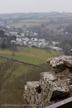 Llansteffan from the castle