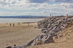 Sea defences at Swansea Uni Bay Campus
