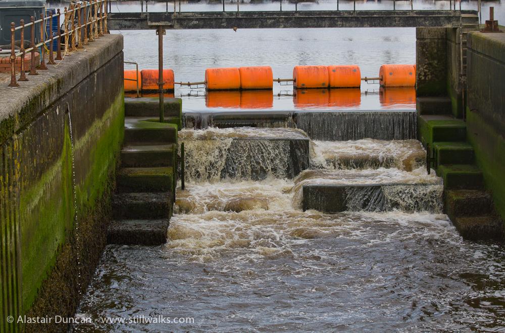 River Tawe Weir Steps