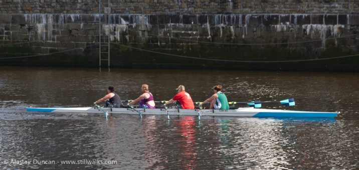 rowing team of four