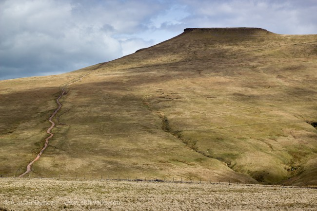 Corn Du in the Brecon Beacons
