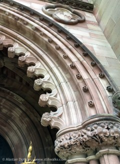 Cathedral architectural detail