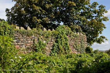 Old copperworks wall