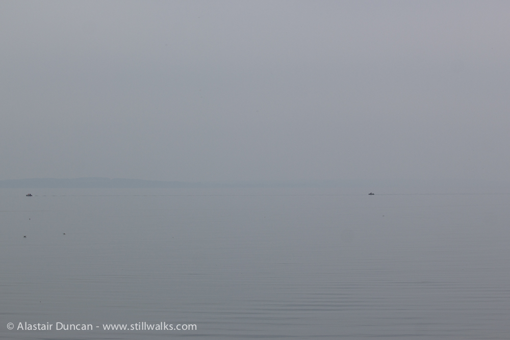 becalmed sea