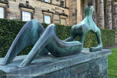 Henry Moore sculpture - Reclining Figure