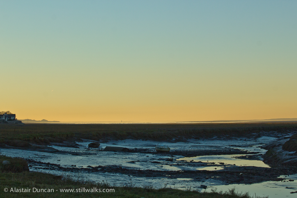 Penclawdd evening view