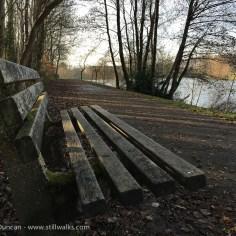 urban lakeside seat