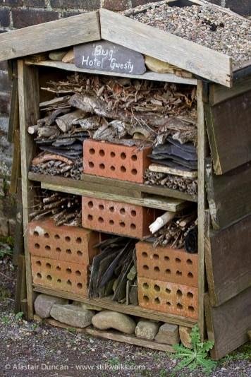 Botanic Garden of Wales bug hotel