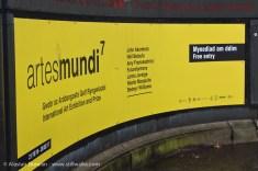 Artes Mundi exhibition banner