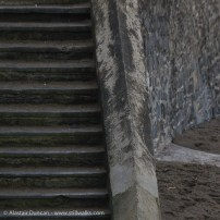 steps and wall