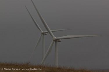 Mynydd y Gwair wind turbines