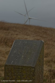 The Gower Way way marker