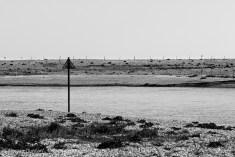 Pagham Harbour - monochrome