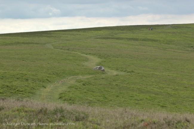 Mynydd Llangorse footpath