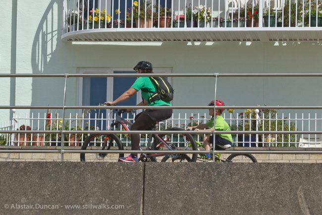 Swansea Bay cyclists
