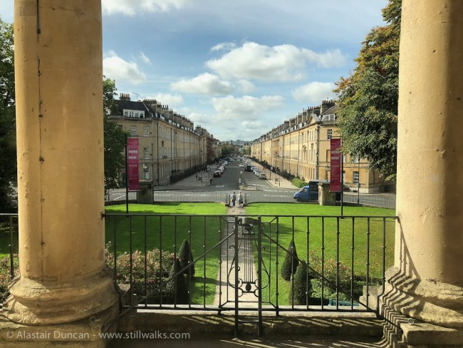 Bath from Holburne Museum