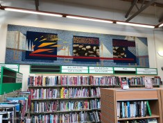 Tapestry in Caldicot Library