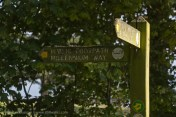 Millennium Footpath sign