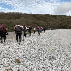 Walking on stones