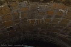 Tunnel stalactites