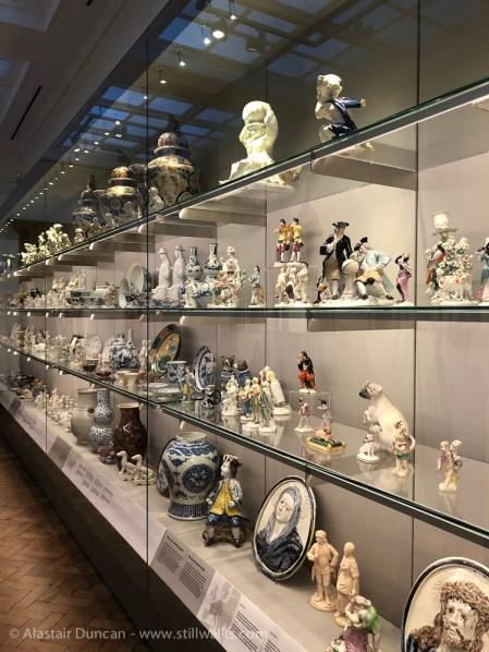 Glynn Vivian ceramics collection