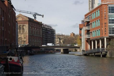 Riverside cityscape