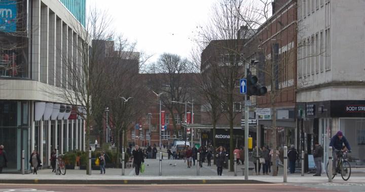 Swansea urban scene
