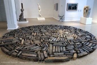 Richard Long installation