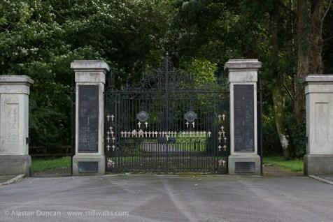 Gnoll Park south entrance