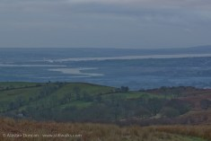 dim view to The Gower