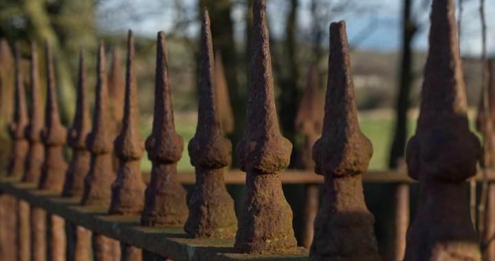 churchyard railings