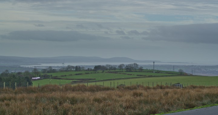 Distant Gower from The Mawr