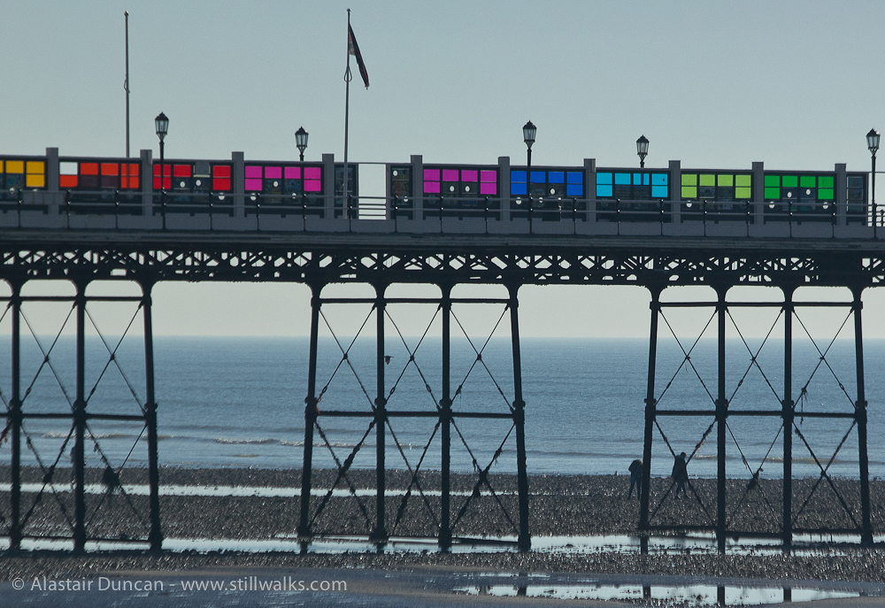 colourful pier