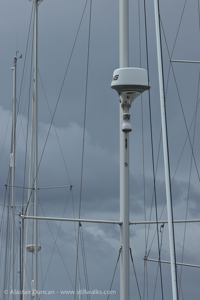 rigging and masts