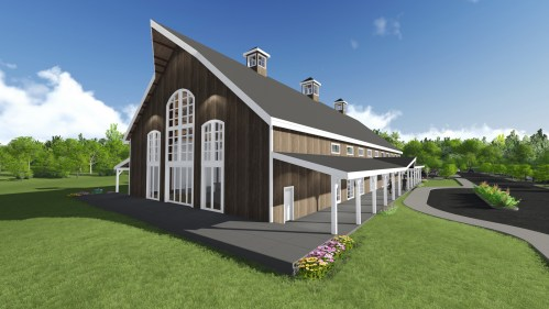 Sparrow Barn Rendering