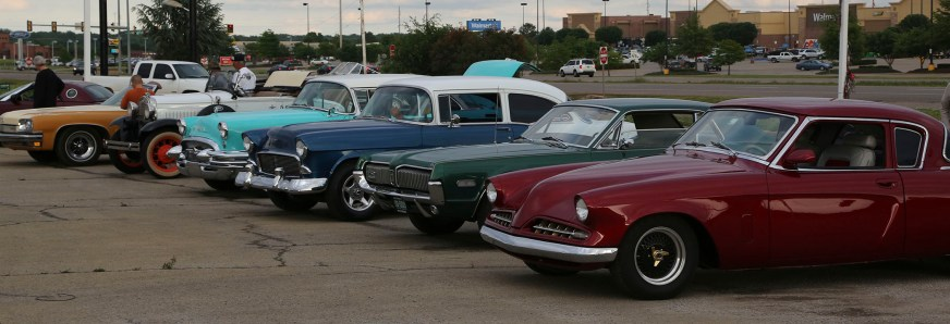 Classics and muscle cars alike gathered at the monthly cruise-in at Wilson Chevrolet. The event come-and-go, you don't have to stay the entire evening.