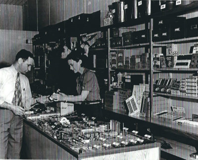 Dale and Margueritte Fenton at the store's Main Street location.
