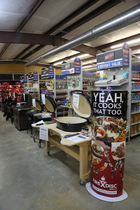 Kinnunen carries a wide range of outdoor grills, accessories, and supplies.
