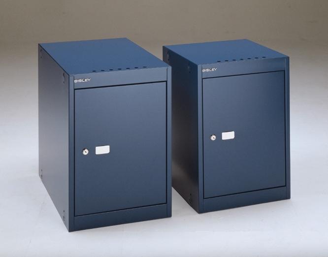 abschliebare Spindbox  Spindwrfel Breite x Tiefe x Hhe 365 x 365 x 527 mm in oxfordblau