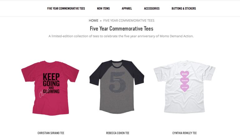 T-shirts Against Gun Violence