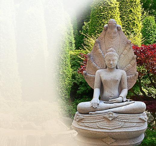 Buddha Statue Für Den Garten
