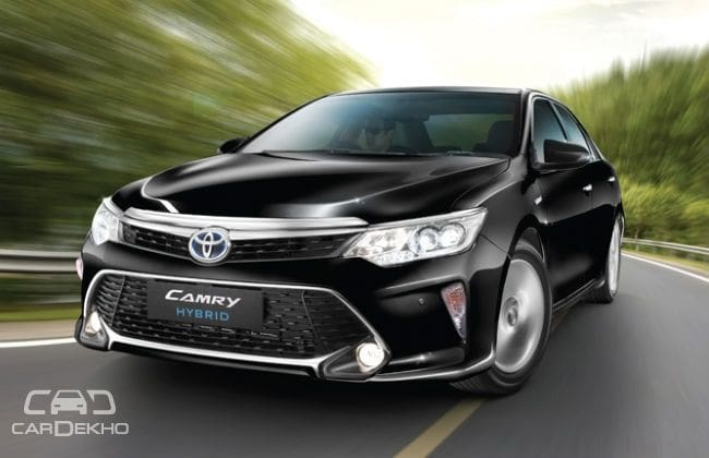 brand new camry hybrid lampu depan grand veloz 2017 toyota launched at rs 31 98 lakh cardekho com