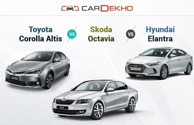 new corolla altis vs skoda octavia ukuran velg grand veloz toyota hyundai elantra specs this year motors gave a facelift to its charismatic while brought in generation both the cars are decently