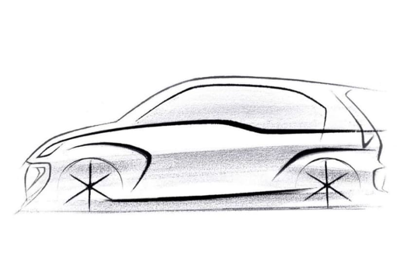 2018 Hyundai Santro: First Official Sketch Revealed