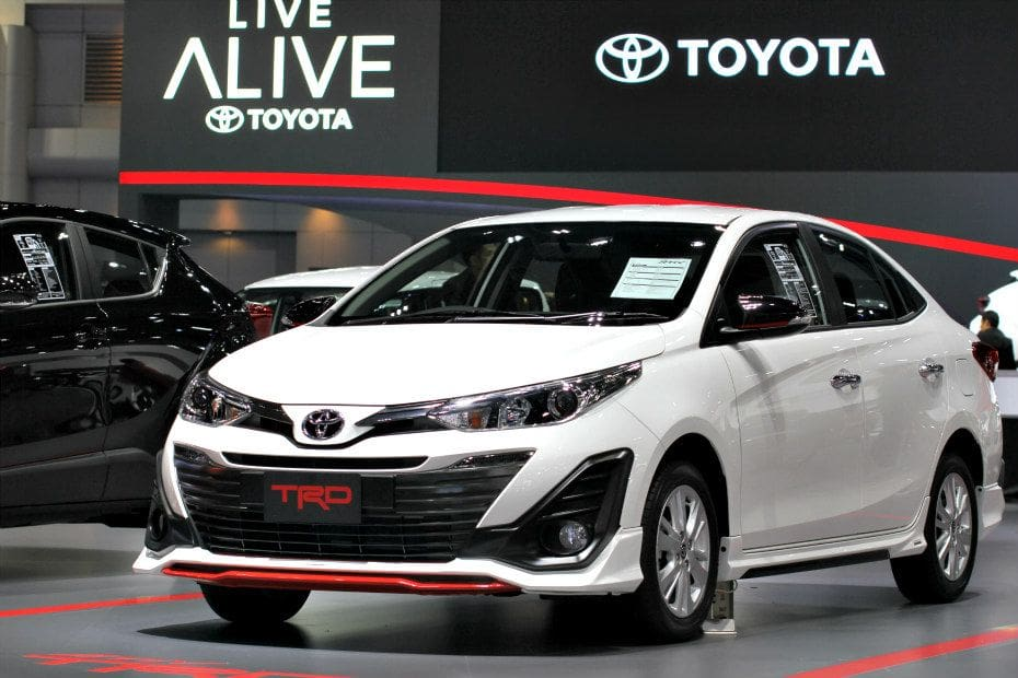 toyota yaris trd brand new alphard for sale will this sportier version launch in india